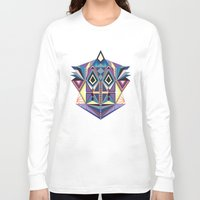 totem Long Sleeve T-shirts featuring Totem by Naia Ceschin