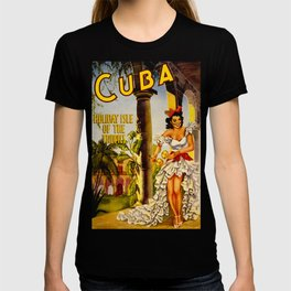Cuba Holiday Isle of the Tropics T-shirt