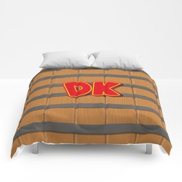 Donkey Kong Barrel Comforters