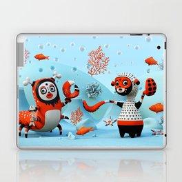 Dead Fish Laptop & iPad Skin
