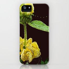 Yellow Foof iPhone Case