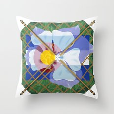 Altered State Flower: CO Throw Pillow