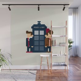 Doctor Who 10th & 11th Wall Mural