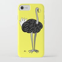 ostrich iPhone & iPod Cases featuring Ostrich? by Annadiplosis