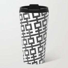 Grey Double Happines Travel Mug