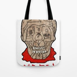 Acid Bath Clown Tote Bag