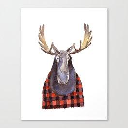 Cool Moose Canvas Print