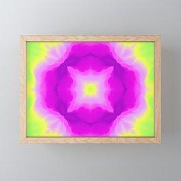 PINK ERUPTION Framed Mini Art Print