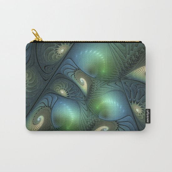 Where Spirals Live Carry-All Pouch