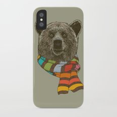 Winter Bear Slim Case iPhone X