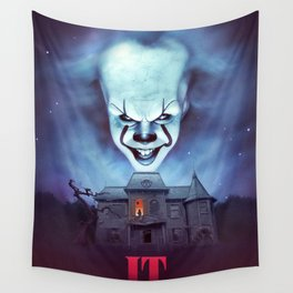 IT we all float down here! Wall Tapestry