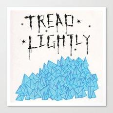 tread lightly - walter white Canvas Print