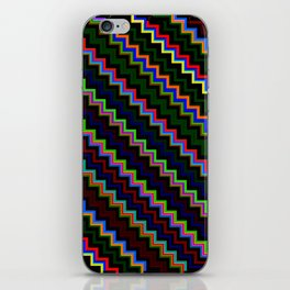 Pixel Split no.4 iPhone Skin