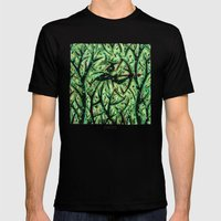 Orixás - Oxossi Mens Fitted Tee LARGE Black