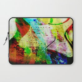 Abstract Electric Guitar Laptop Sleeve