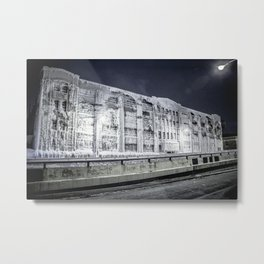 Ashland Icehouse Metal Print