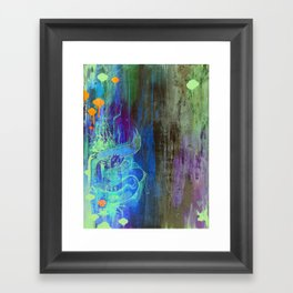 Enchanted Bunny Beats The Burst Framed Art Print