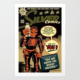 Silver Comics #8, 2008 Art Print