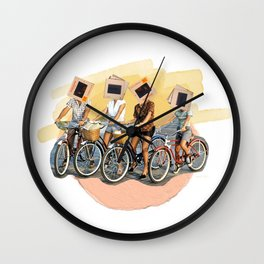 Kodachrome Cycles Wall Clock