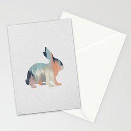 Pastel Rabbit Stationery Cards