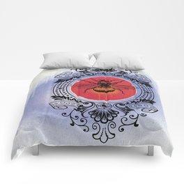 Bumble Bee Sunrise Comforters