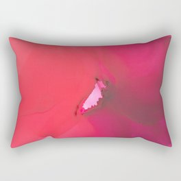 Red flower Rectangular Pillow