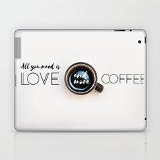Love & Coffee Laptop & iPad Skin