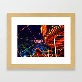 Coney Island, Baby Framed Art Print
