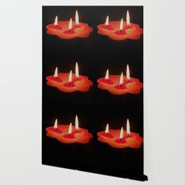 Light a Three Way Candle Wallpaper