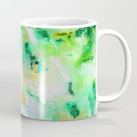 monet Mugs featuring Monet by acrylikate