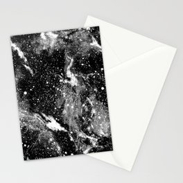Galaxy (B/W) Stationery Cards