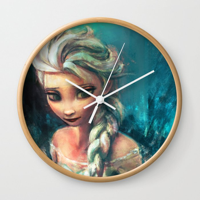 The Storm Inside Wall Clock