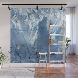 Alaska's Glacier Bay With Massive Blue Ice 'Mountains' Wall Mural