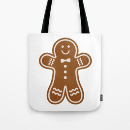 Gingerbread Hugs Tote Bag