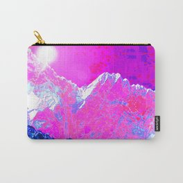 Alpenglow in Violet Carry-All Pouch