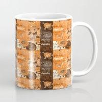 chemistry Mugs featuring chemistry by kociara