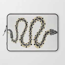 Serpent – Black & Gold Laptop Sleeve