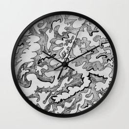 Today is The First Day of the Rest of My Life Wall Clock
