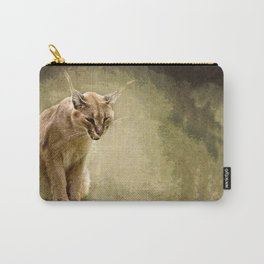 Caracal- wild cat Carry-All Pouch