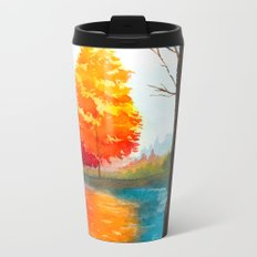 Autumn scenery #7 Metal Travel Mug