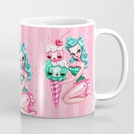 Ice Cream Pinup Doll Coffee Mug