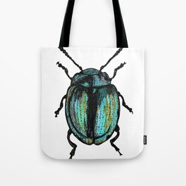Blue Beetle Tote Bag