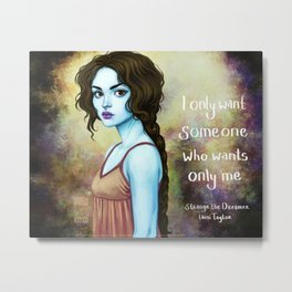 Sparrow- Only Me Metal Print