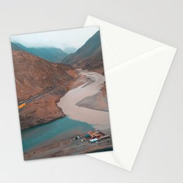 Mountains & Rivers Stationery Cards