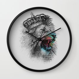 King Lion Wall Clock
