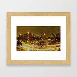 New York Skyline 2 Framed Art Print