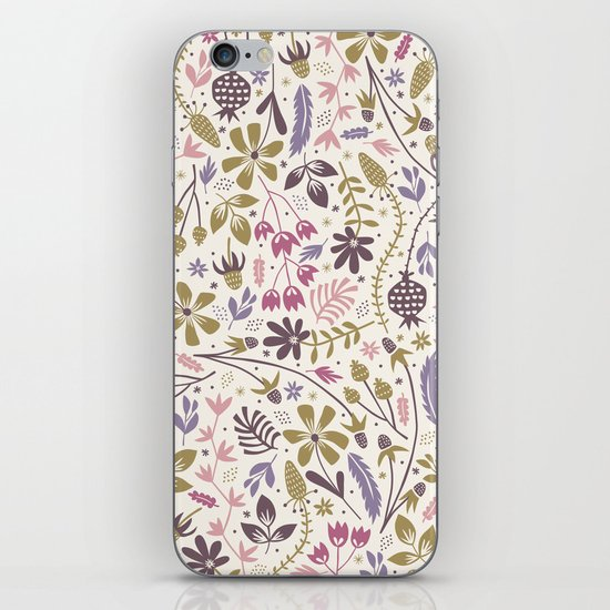 Vintage Blooms iPhone & iPod Skin