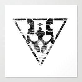 Warsheh Skull Canvas Print
