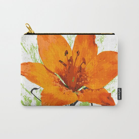 Wild flower Carry-All Pouch