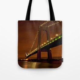 Verrazano-Narrows Bridge Tote Bag